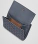 BOTTEGA VENETA MINI WALLET IN KRIM INTRECCIATO NAPPA LEATHER Mini Wallet or Coin Purse D lp