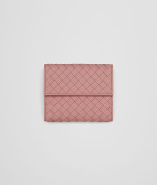 MINI WALLET IN BOUDOIR INTRECCIATO NAPPA LEATHER