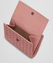 BOTTEGA VENETA MINI WALLET IN BOUDOIR INTRECCIATO NAPPA LEATHER Mini Wallet or Coin Purse D lp