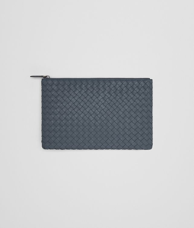 BOTTEGA VENETA MEDIUM DOCUMENT CASE IN KRIM INTRECCIATO NAPPA Other Leather Accessory E fp
