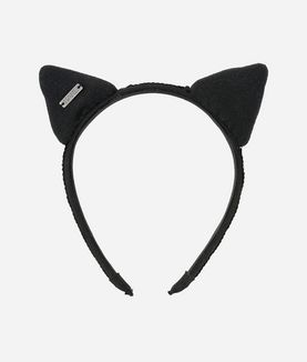 KARL LAGERFELD CAT EAR HEADBAND