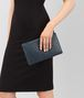 BOTTEGA VENETA MEDIUM DOCUMENT CASE IN DENIM INTRECCIATO NAPPA Other Leather Accessory E ap