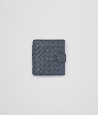 MINI WALLET IN KRIM INTRECCIATO NAPPA LEATHER