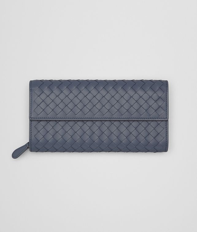 BOTTEGA VENETA CONTINENTAL WALLET IN KRIM INTRECCIATO NAPPA Continental Wallet Woman fp