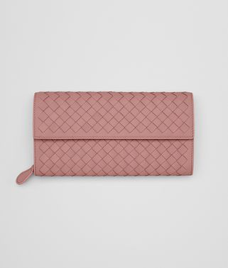 CONTINENTAL WALLET IN BOUDOIR INTRECCIATO NAPPA LEATHER