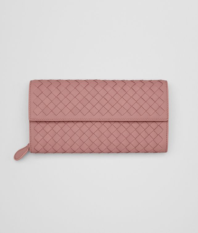 BOTTEGA VENETA CONTINENTAL WALLET IN BOUDOIR INTRECCIATO NAPPA LEATHER Continental Wallet D fp