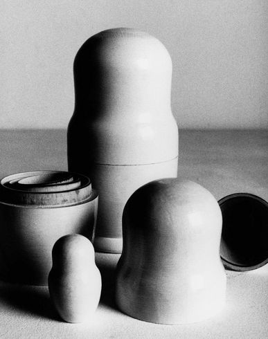 DESIGN OBJECTS Russian dolls E f