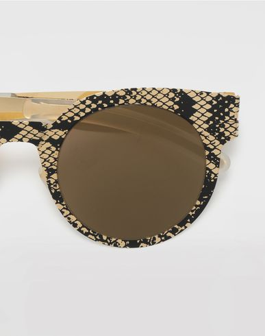 ACCESSORIES MYKITA + MAISON MARGIELA 'TRANSFER' Gold