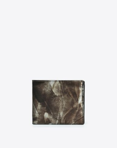 MAISON MARGIELA Wallet U Brushed leather wallet f