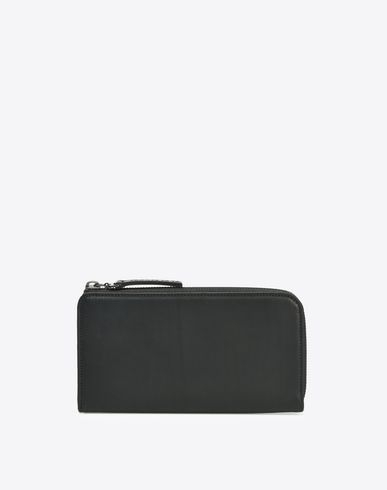 MAISON MARGIELA Wallets Man Long calfskin zip wallet f