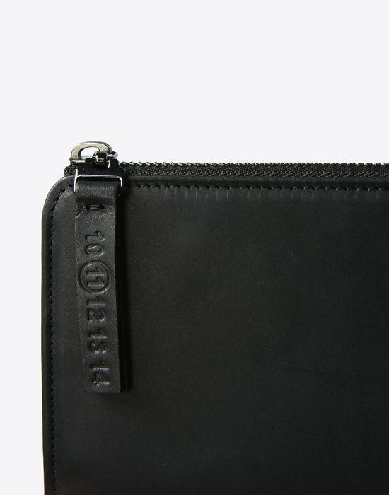 MAISON MARGIELA Long calfskin zip wallet Wallet [*** pickupInStoreShippingNotGuaranteed_info ***] b