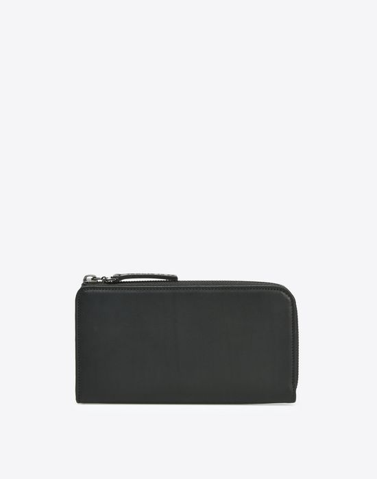 MAISON MARGIELA Long calfskin zip wallet Wallet [*** pickupInStoreShippingNotGuaranteed_info ***] f