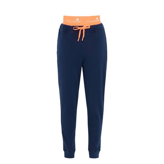 夜靛蓝色运动裤
