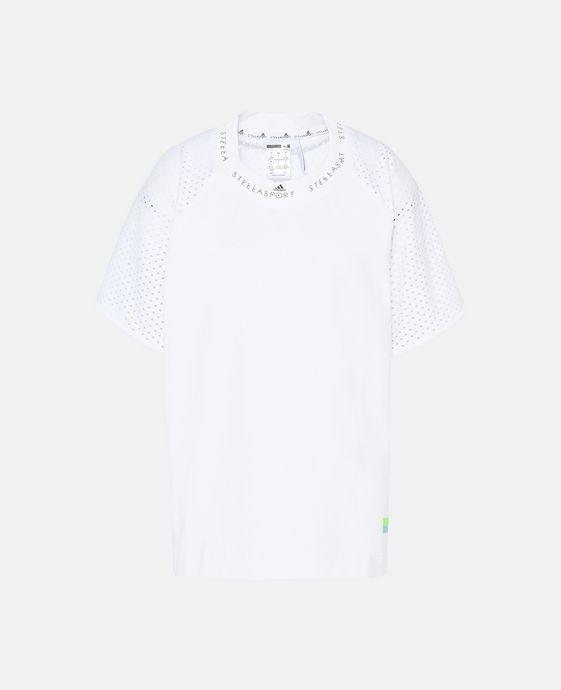 White Mesh Performance T-shirt