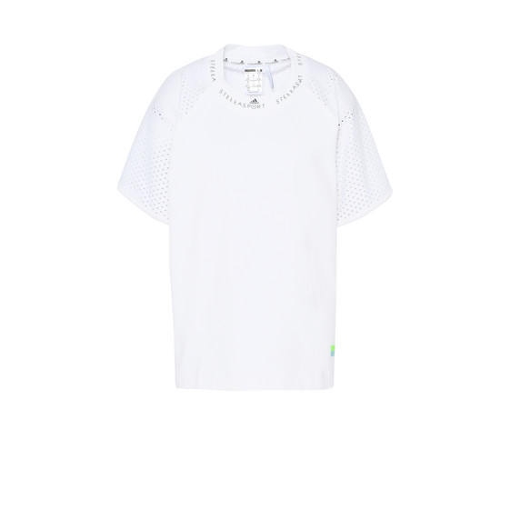 White Mesh Performance T-shirt