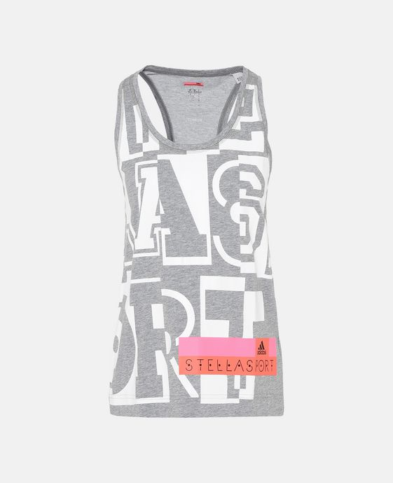 Grey College Performance Tank