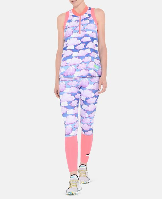 ADIDAS by STELLA McCARTNEY Cloud Print Zipper Top StellaSport Topwear D h