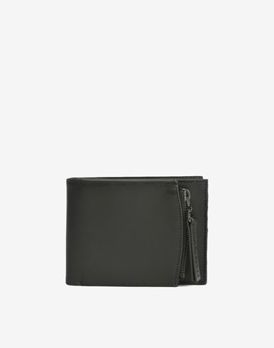 MAISON MARGIELA Wallets U Calfskin wallet with outer coin pouch f