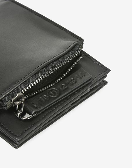 MAISON MARGIELA Calfskin wallet with outer coin pouch Wallets Man b