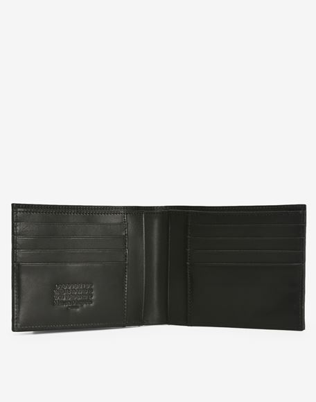 MAISON MARGIELA Calfskin wallet with outer coin pouch Wallets Man d