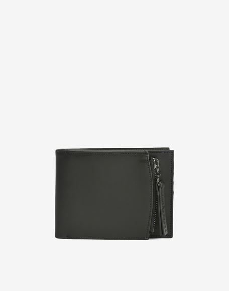 MAISON MARGIELA Calfskin wallet with outer coin pouch Wallets Man f