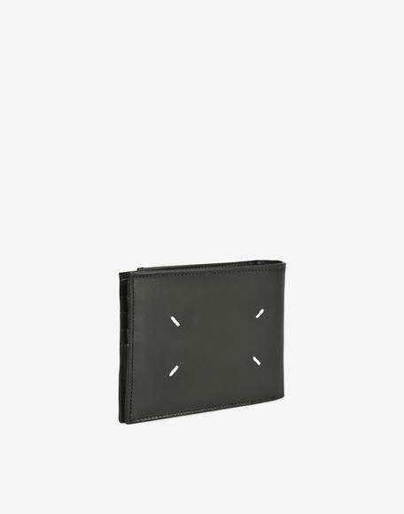 MAISON MARGIELA Calfskin wallet with outer coin pouch Wallets Man r
