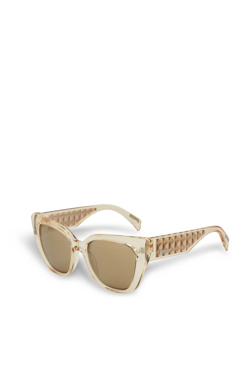JUST CAVALLI Gold tinted sunglasses SUNGLASSES Woman r