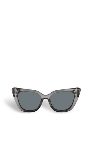 Elongated sunglasses