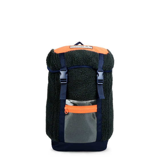 Night Indigo Fleece Backpack