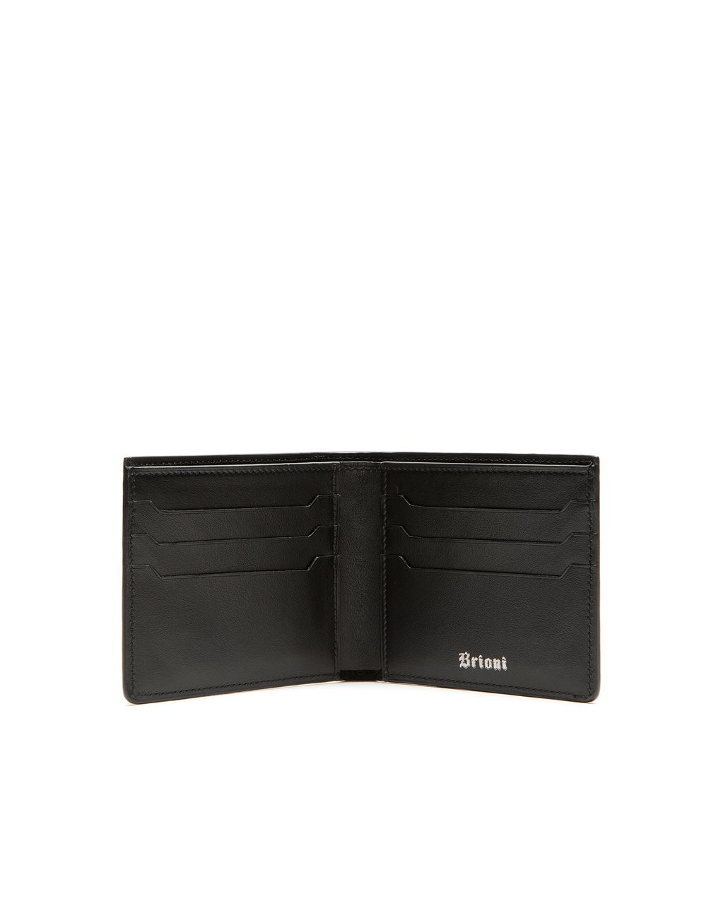 BRIONI Oxblood Slim Wallet Leather Goods Man r