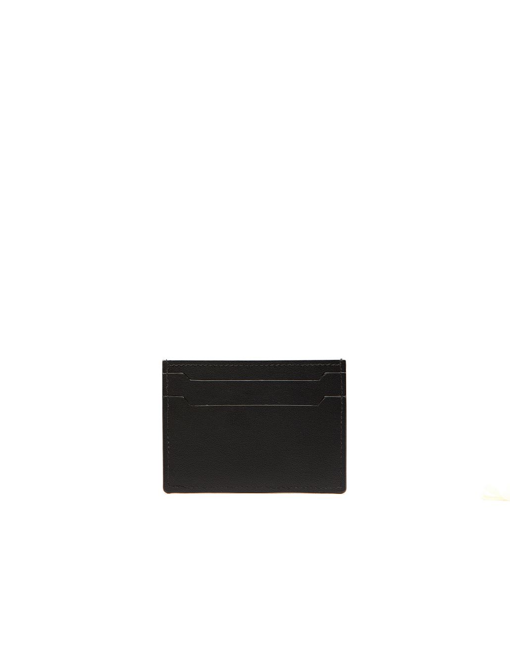 BRIONI Black Credit Card Holder Leather Goods Man r