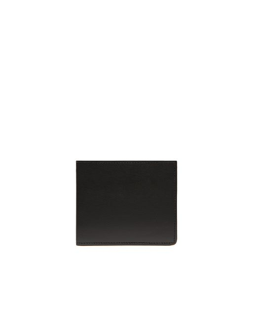 BRIONI Leather Goods U Black Slim Wallet f