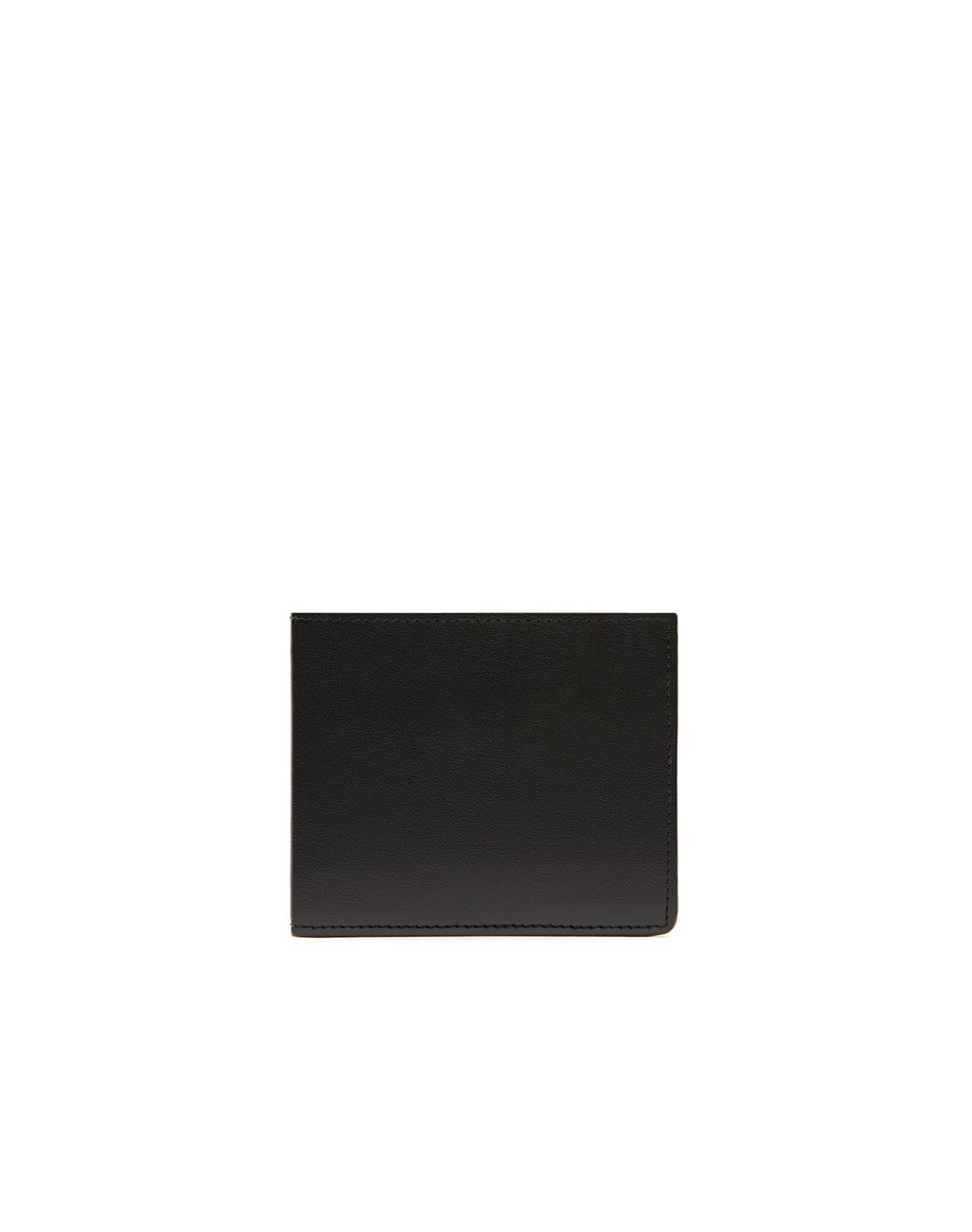 BRIONI Black Slim Wallet Leather Goods Man f