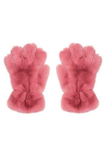 Marni Gloves in lapin rex pink Woman