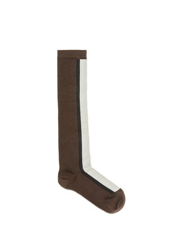 Marni Knee-sock in cotton Woman