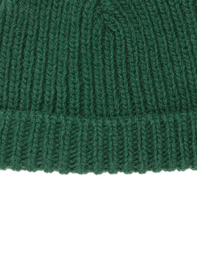 MARNI Cappello Uomo Cappello in lana verde e 4ee2b4528f87