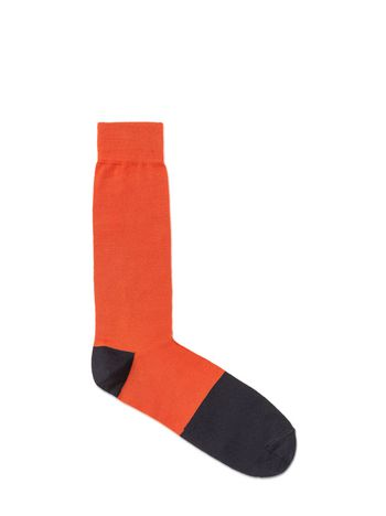 Marni Wool sock orange Man