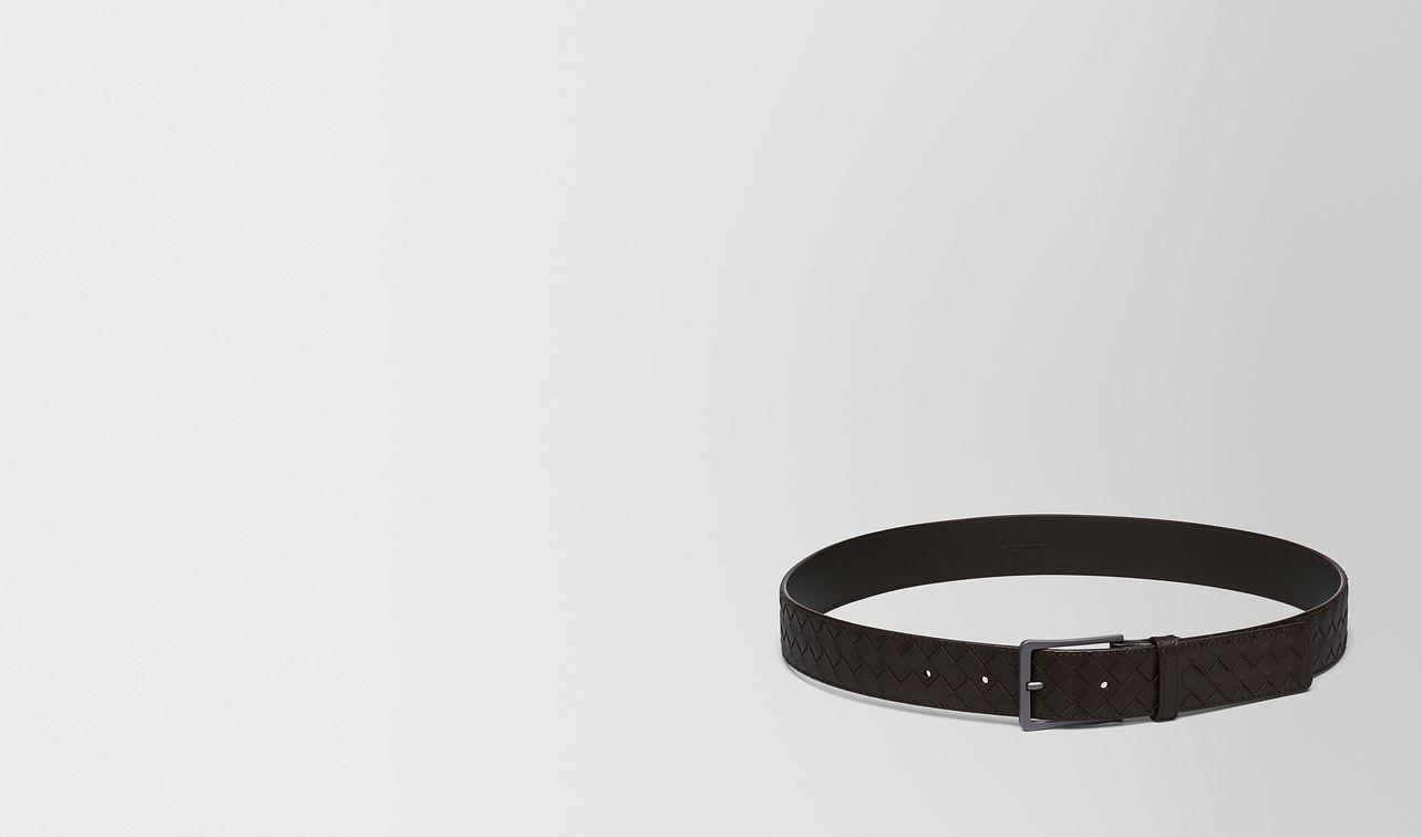 belt in espresso intrecciato vn landing