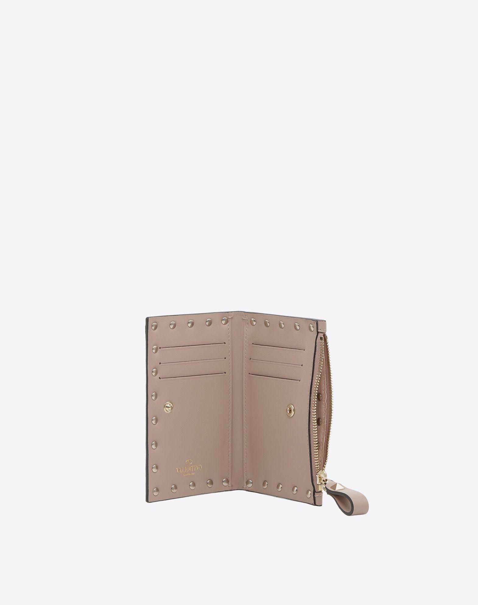 Valentino Rockstud coin purse card case QG8Qs2w