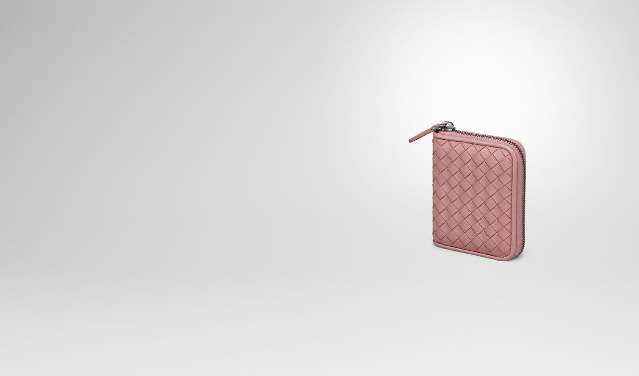 25f2767145d2 coin purse in boudoir intrecciato nappa leather landing. BOTTEGA VENETA ...