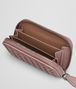 BOTTEGA VENETA COIN PURSE IN DESERT ROSE INTRECCIATO NAPPA Mini Wallet Woman ap