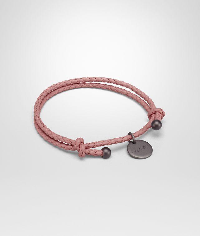 BOTTEGA VENETA BRACELET IN BOUDOIR INTRECCIATO NAPPA LEATHER Keyring or Bracelets E fp
