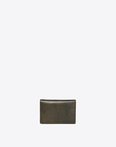 MAISON MARGIELA Wallets U Calfskin wallet with button closure f