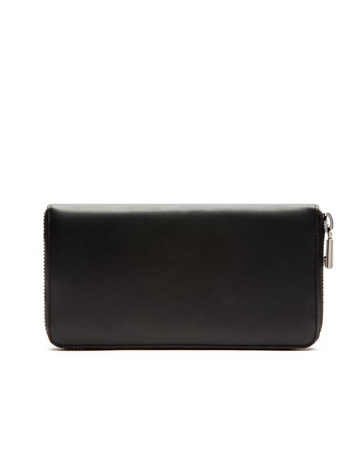 Black Zip Around Wallet