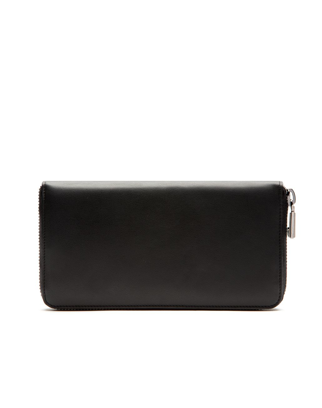 BRIONI Black Zip Around Wallet  Leather Goods U f