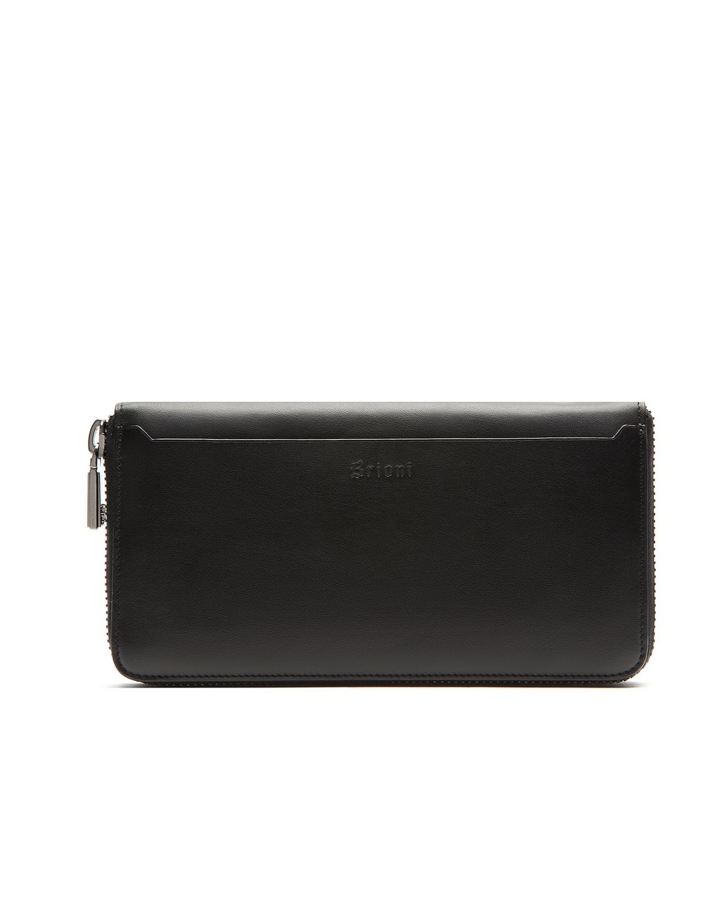BRIONI Black Zip Around Wallet  Leather Goods U r