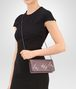 BOTTEGA VENETA CONTINENTAL WALLET IN GLICINE EMBROIDERED INTRECCIATO NAPPA Continental Wallet Woman ap