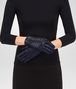 BOTTEGA VENETA GLOVE IN DARK NAVY NAPPA, INTRECCIO DETAILS Scarf or other D rp