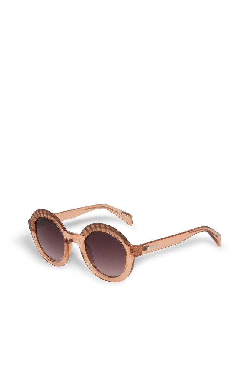 JUST CAVALLI Round sunglasses with raised details SUNGLASSES Woman r