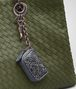 BOTTEGA VENETA KEY RING IN KRIM INTRECCIATO AYERS Keyring or Bracelets E ap